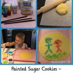Painted Sugar Cookies – Using DIY Edible Paint!
