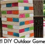 21 DIY Outdoor Games
