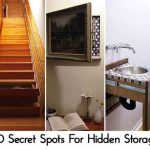 20 Secret Spots For Hidden Storage