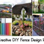 15 Creative DIY Fence Design Ideas