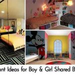 21 Brilliant Ideas for Boy & Girl Shared Bedroom