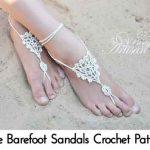 Free Barefoot Sandals Crochet Pattern