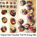 Organic Dark Chocolate Trail Mix Energy Bites
