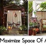 17 Ways To Maximize Space Of A Small Patio