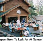 14 Prepper Items To Look For At Garage Sales