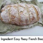 4 Ingredient Easy Peesy French Bread