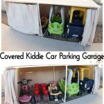 Covered Kiddie Car Parking Garage
