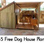85 Free Dog House Plans