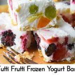Tutti Frutti Frozen Yogurt Bars