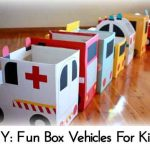 DIY: Fun Box Vehicles For Kids