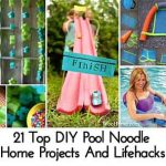 21 Top DIY Pool Noodle Home Projects And Lifehacks