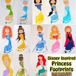 Disney Princess Footprints