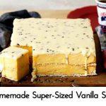Homemade Super-Sized Vanilla Slice