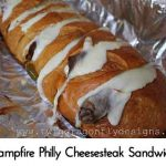 Campfire Philly Cheesesteak Sandwich