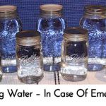 Canning Water – In Case Of Emergency