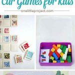 40+ DIY Car Games for Kids