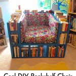Cool DIY Bookshelf Chair