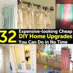 32 Expensive-looking Cheap DIY Home Upgrades You Can Do in No Time