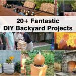 20+ Fantastic DIY Backyard Projects