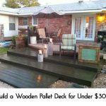 Build a Wooden Pallet Deck for Under $300