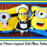 Free Minion Inspired Doll+Pillow Patterns