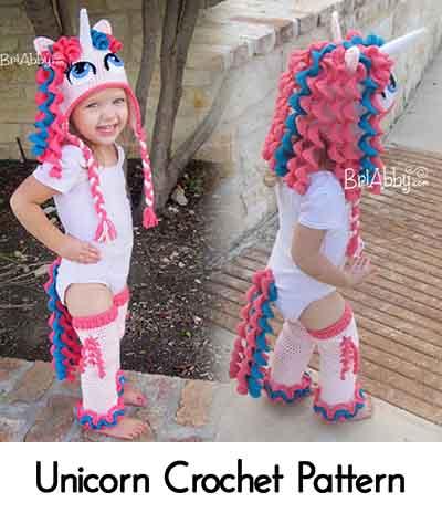 Unicorn Crochet Pattern. Image credit  briabby.com 065c49b06d5