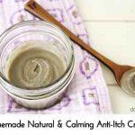 Homemade Natural & Calming Anti-Itch Cream