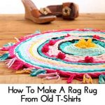 How To Make A Rag Rug From Old T-Shirts