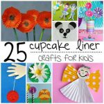 25 Cupcake Liner Crafts For Kids