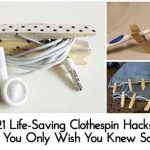 21 Life-Saving Clothespin Hacks That You Only Wish You Knew Sooner