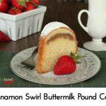 Cinnamon Swirl Buttermilk Pound Cake