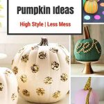 10 Most Stylish No-Carve Pumpkin Ideas