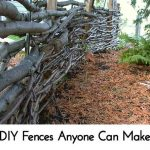 DIY Fences Anyone Can Make