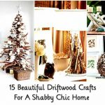 15 Beautiful Driftwood Crafts For A Shabby Chic Home