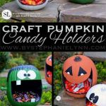 Craft Pumpkin Candy Holders – Faux Pumpkin Craft