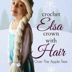 Crochet Elsa Crown With Hair