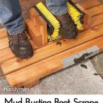 Mud-Busting Boot Scrape