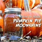 "How To Make Pumpkin Pie ""Moonshine"""