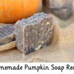 Homemade Pumpkin Soap Recipe