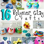 16 Clever Polymer Clay Crafts