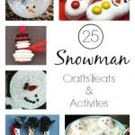 25 Snowman Crafts, Activities And Treats