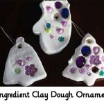 2 Ingredient Clay Dough Ornaments