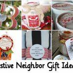 Festive Neighbor Gift Ideas