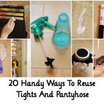 20 Handy Ways To Reuse Tights And Pantyhose