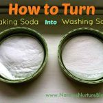 How to Turn Baking Soda into Washing Soda