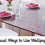 35 Unusual Ways to Use Wallpaper Ideas