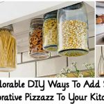 15 Adorable DIY Ways To Add Some Decorative Pizzazz To Your Kitchen