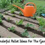 Wonderful Pallet Ideas For The Garden