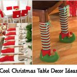 Cool Christmas Table Decor Ideas