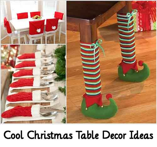 Cool christmas table decor ideas lil moo creations Cool christmas house decorations